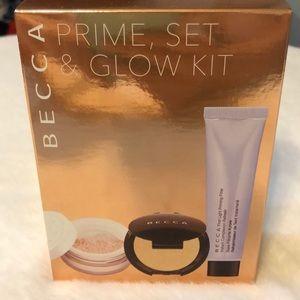 New in box Becca Prime, Set & Glow Kit!